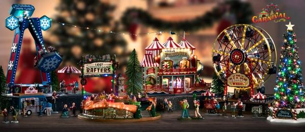 Χριστουγεννιάτικο Χωριό Μινιατούρες
