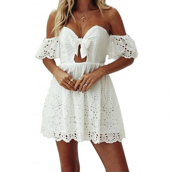 Μίνι φόρεμα δαντέλα - Φορέματα με δαντέλα 2301335e22b