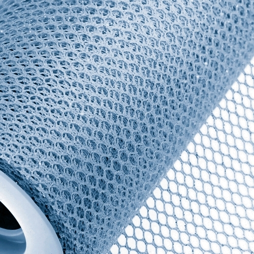 Light Blue Honeycomb Net On Roll 60cm x 9m