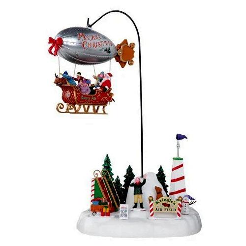 Ζέπελιν Με Έλκυθρο Χριστουγεννιάτικο Διακοσμητικό