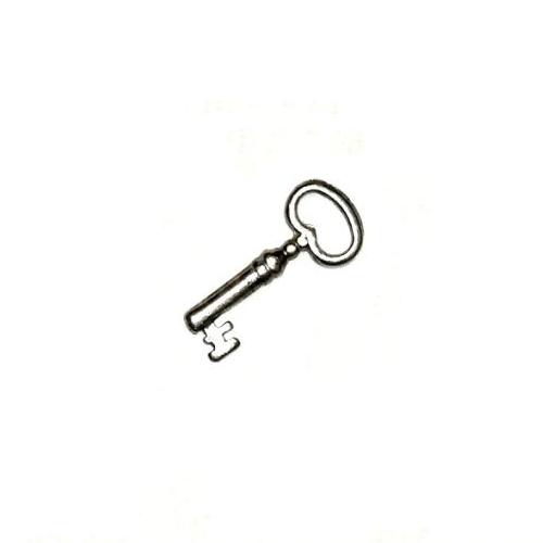 Metal Charm Key