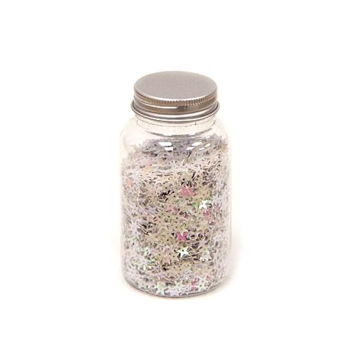 White star confetti