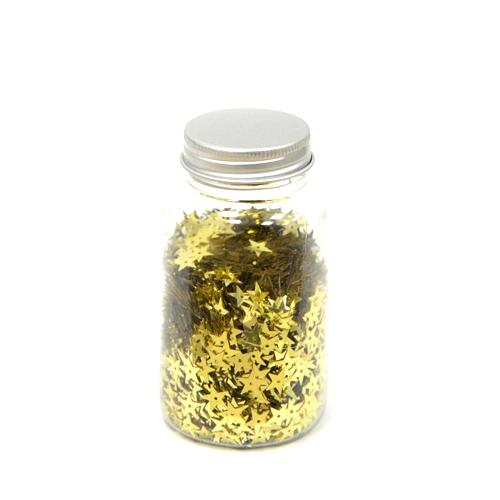 Κομφετί αστεράκι χρυσό 1cm