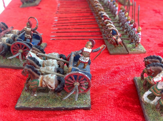 15 mm Macedonian phalanx metal figures