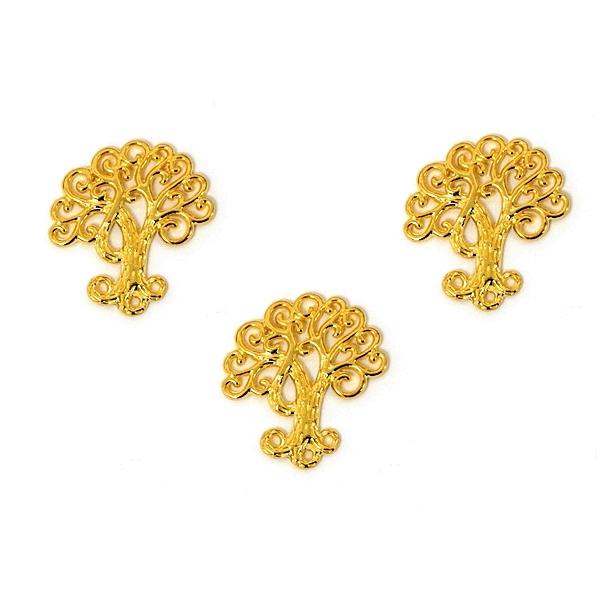 Μεταλλικό δέντρο ζωής χρυσό