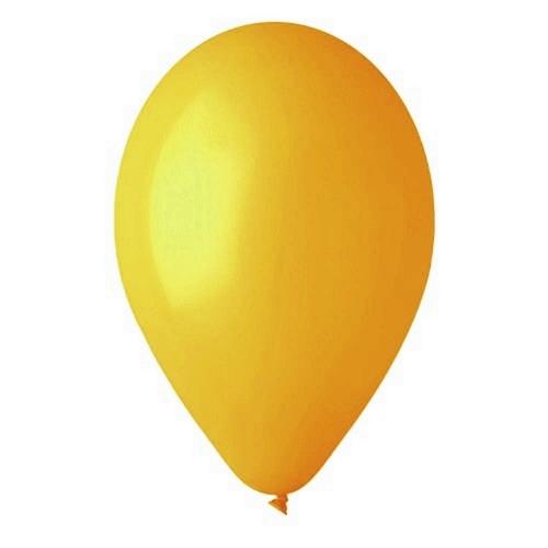 Κίτρινα μπαλόνια λάτεξ 28 cm