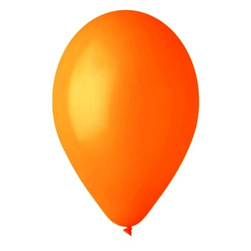 Πορτοκαλί μπαλόνια λάτεξ 28 cm
