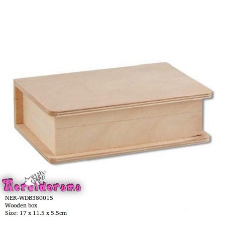 Ξύλινο κουτί  17 x 11.5 x 5.5εκ