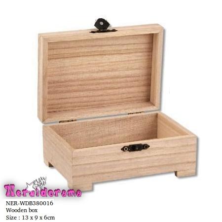 Ξύλινο κουτί 13 x 9 x 6εκ