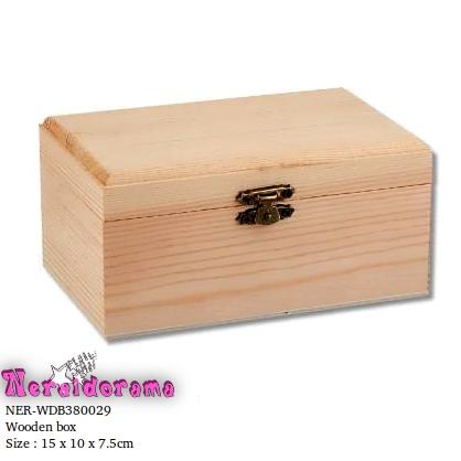Ξύλινο κουτί  15 x 10 x 7.5εκ.
