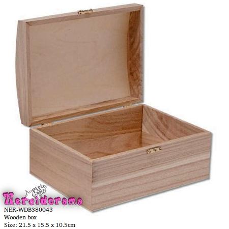 Ξύλινο κουτί  21.5 x 15.5 x 10.5εκ