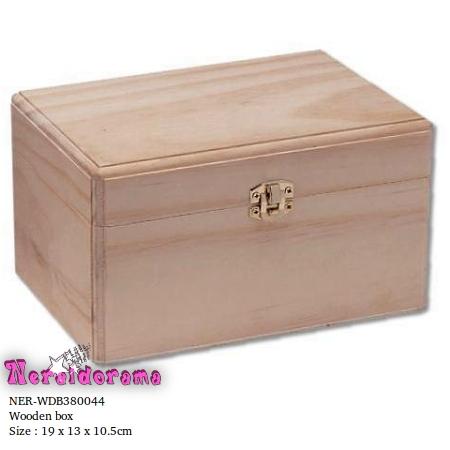 Ξύλινο κουτί  19 x 13 x 10.5εκ