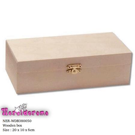 Ξύλινο κουτί  20 x 10 x 6εκ