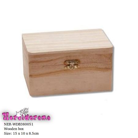 Ξύλινο κουτί  15 x 10 x 8.5εκ