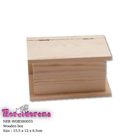 Ξύλινο κουτί 15.5 x 12 x 8.5εκ