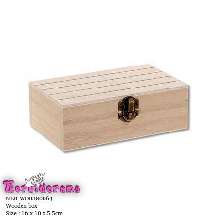 Ξύλινο κουτί  16 x 10 x 5.5εκ