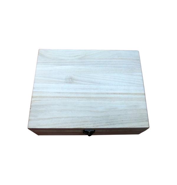 Ξύλινο κουτί 27.5 χ 21.5 χ 8.5εκ.
