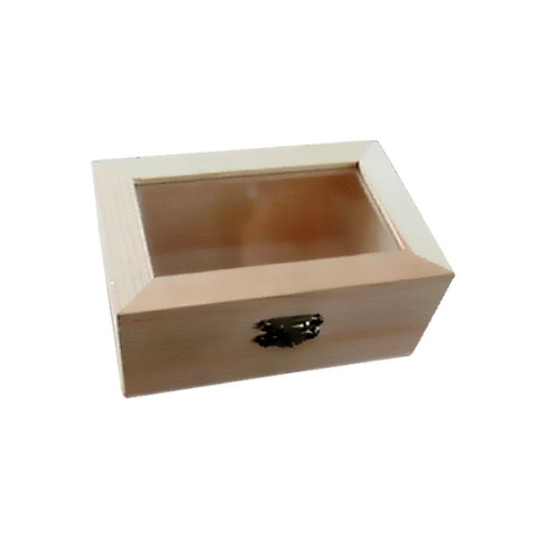 Ξύλινο κουτί με τζάμι