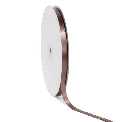 Σατέν κορδέλα μονής όψης Σκούρο ροδακινί 10mm x 50m