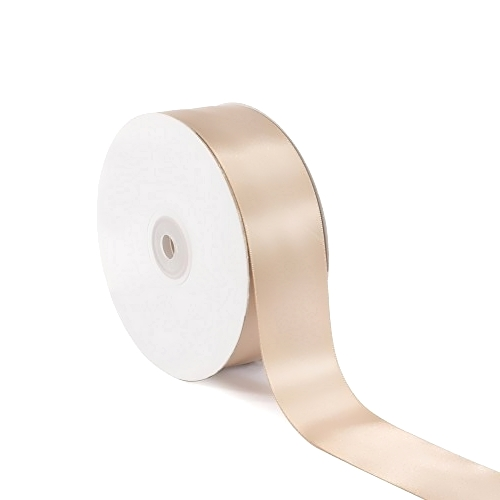 Σατέν Κορδέλα Μονής Όψης Δέρματος 25mm x 50m