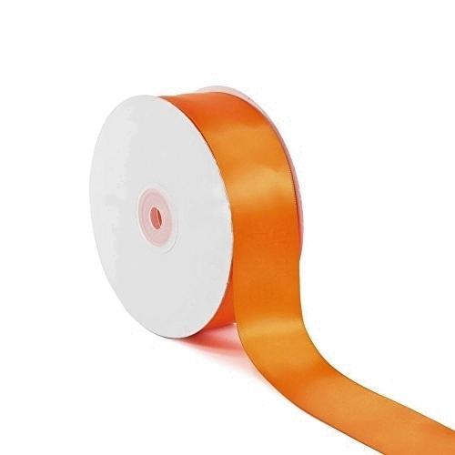Σατέν Κορδέλα Μονής Όψης Πορτοκαλί 25mm x 50m