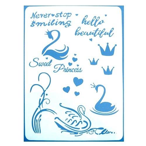 Swan stencil