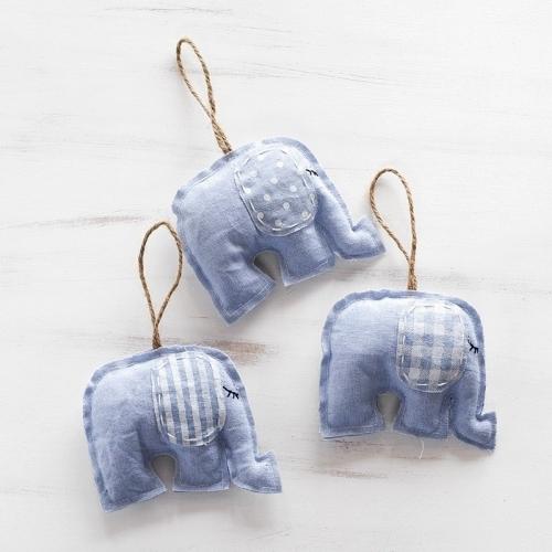 Υφασµάτινοι Χειροποίητοι Ελέφαντες