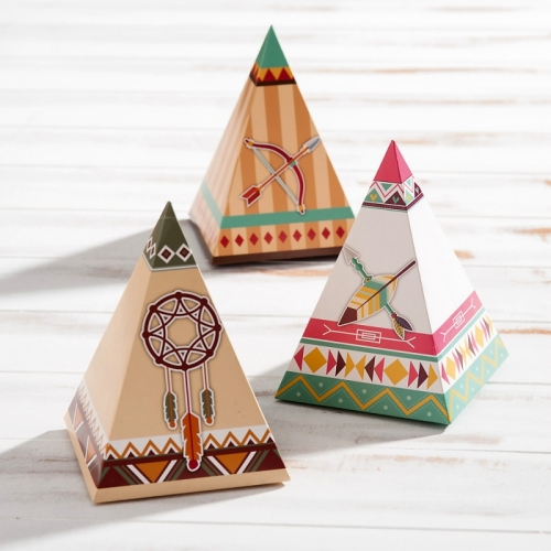 Paper indian teepee