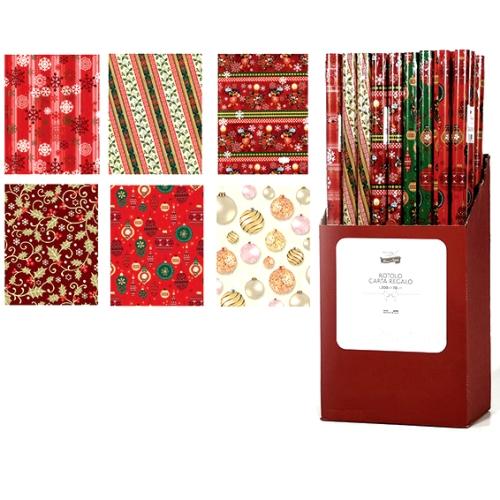 Χριστουγεννιάτικο Χαρτί Περιτυλίγματος Σε Ρολλό 70 x 200cm