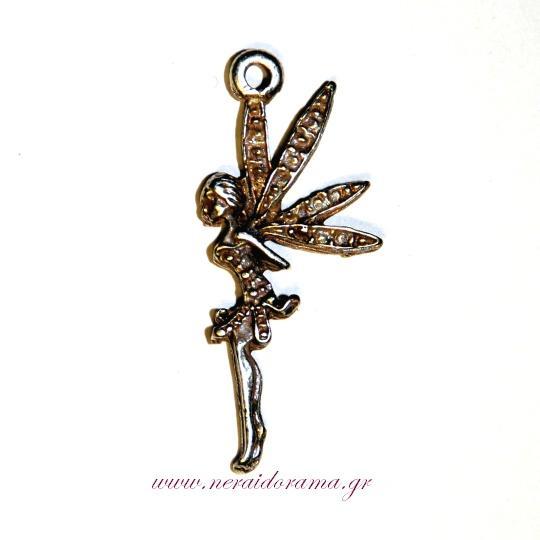 Zinc alloy pendant -Fairy