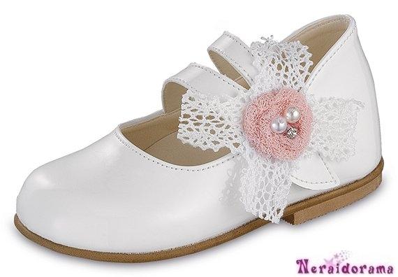Βαπτιστικό παπουτσάκι για κορίτσι