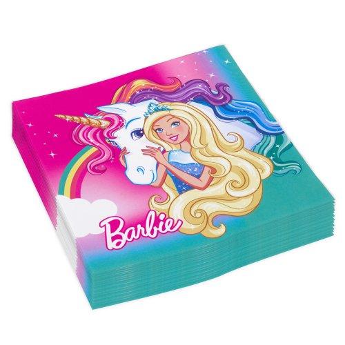 Barbie Dreamtopia  χαρτοπετσέτες φαγητού 20 τεμαχίων