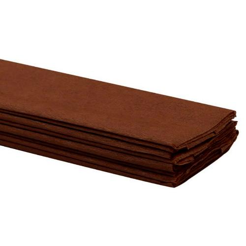 Brown Crepe Paper 50 x 2m