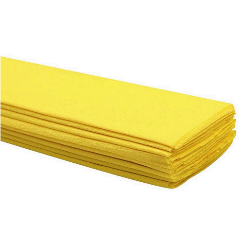 Yellow Crepe Paper 50 x 2m