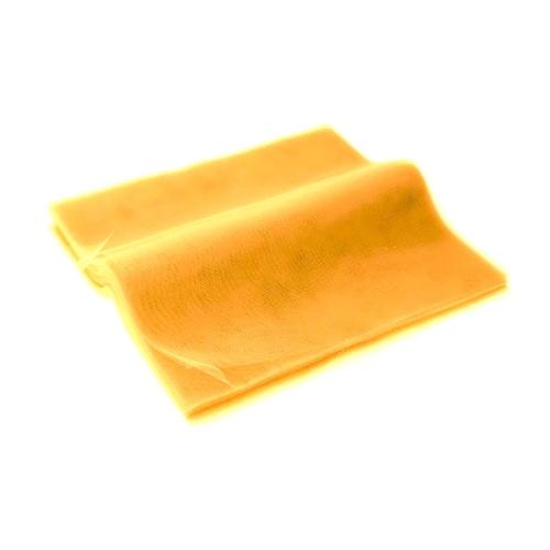 Τούλι Κομμένο Τετράγωνο Κίτρινο 45x50εκ. 100τεμ