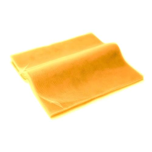 Τούλι Κομμένο Τετράγωνο Κίτρινο 50x60εκ. 100τεμ