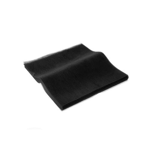 Τούλι Μαύρο Κομμένο Τετράγωνο 36x36εκ. 100 τεμ