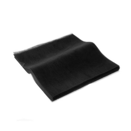 Τούλι Μαύρο Κομμένο Τετράγωνο 45x45εκ. 100 τεμ