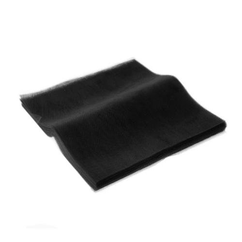 Black Tulle Squares 45x50cm 100pcs