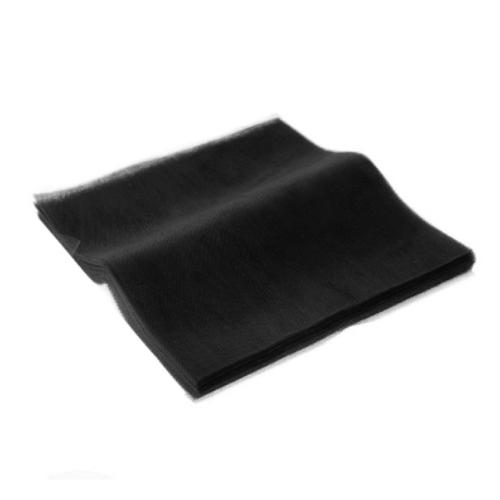 Τούλι Κομμένο Τετράγωνο Μαύρο 50x60εκ. 100τεμ