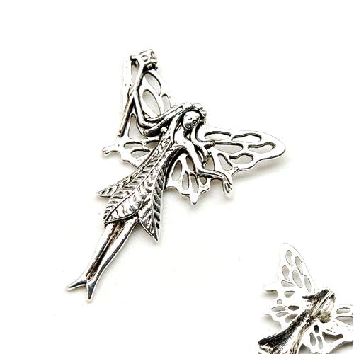 Zinc alloy pendant Fairy