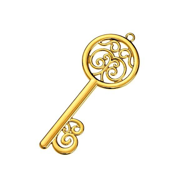 Μεταλλικό κλειδί χρυσό