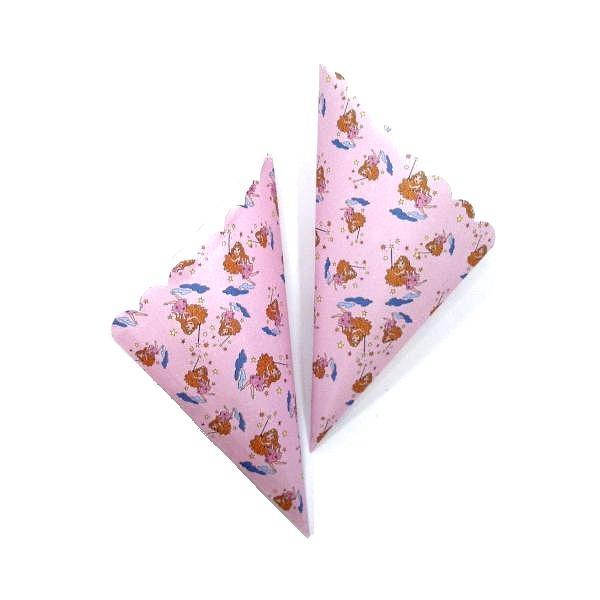 Χάρτινα  χωνάκια  για ζαχαρωτά - Νεράιδες