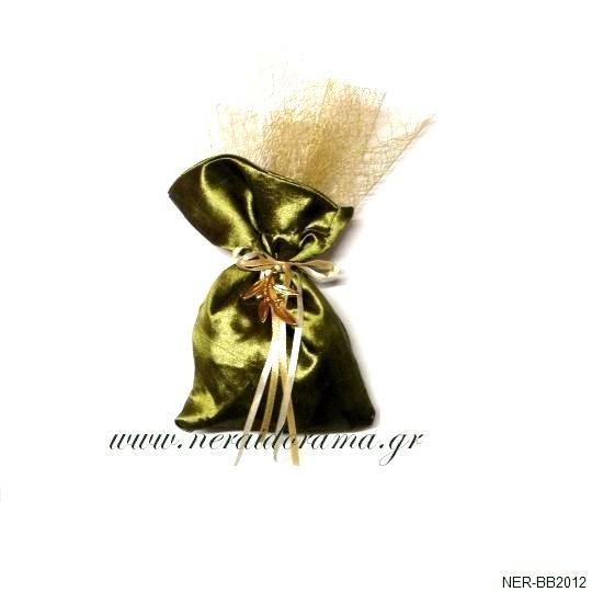 Μπομπονιέρα  γάμου-Κλαδί ελιάς