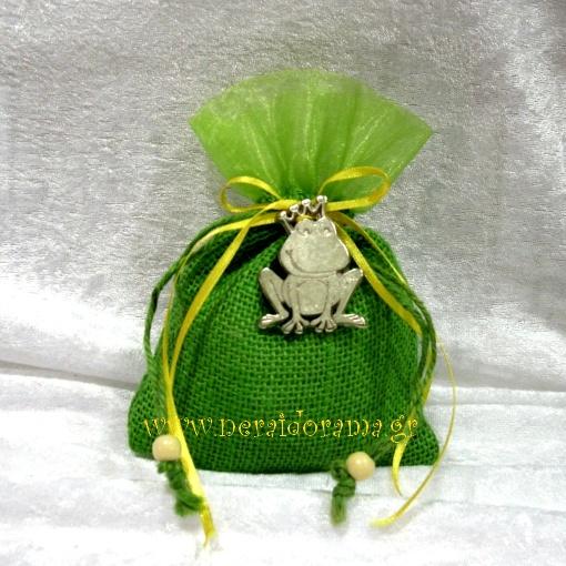 Μπομπονιέρα βάτραχος πρίγκιπας