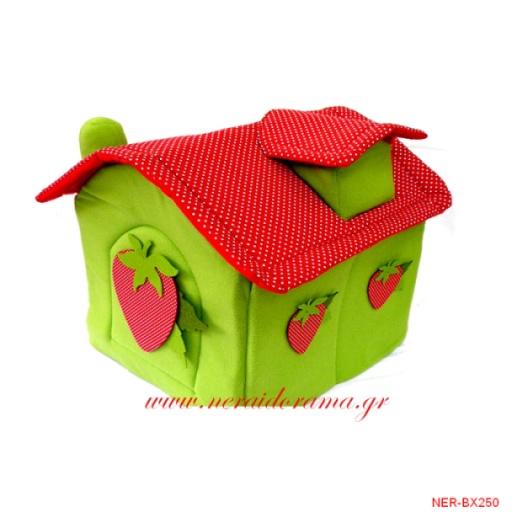 Κουτί  βάπτισης-Φραουλίτσα