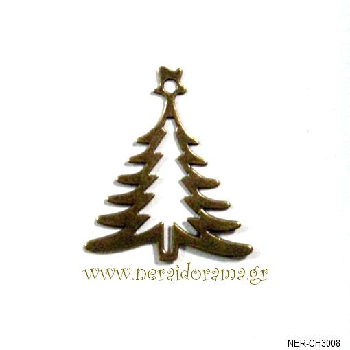 Μεταλλικό Χριστουγεννιάτικο  δέντρο