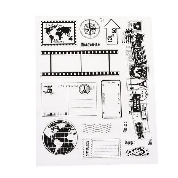Silicone stamps