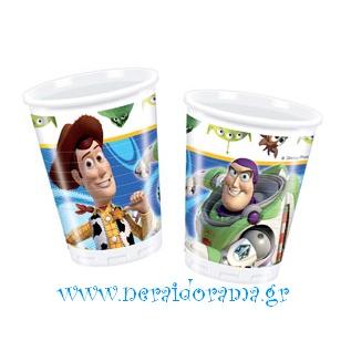Ποτηράκια Toy story 3