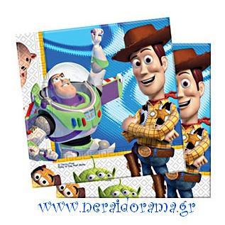 Χαρτοπετσέτες Toy story 3